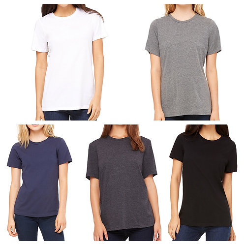 Ladies' Bella+Canvas Relaxed Crew T-shirt