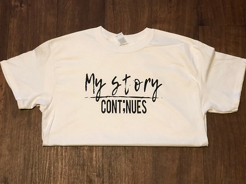 My Story Cont;nues - Basic T-shirt - Unisex