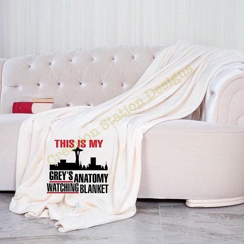 Grey's Anatomy Watching Blanket