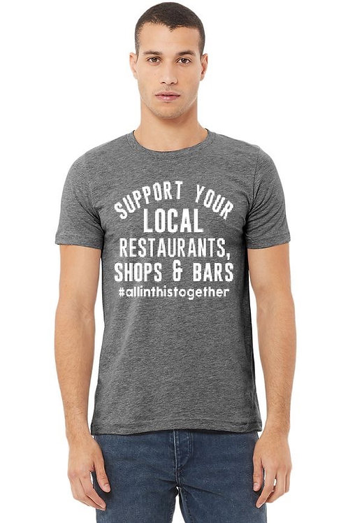 Support Your Local Restaurants, Shops & Bars