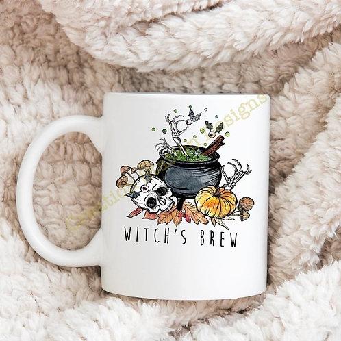 Witch's Brew 11oz Coffee Mug