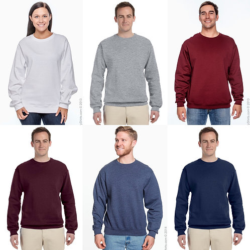 Unisex 2x-4x Jerzees Sweatshirt