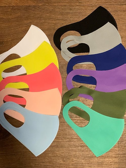 Adult Sponge Mask -  Thinner, Breathable - one size