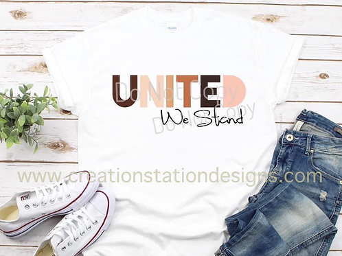 United We Stand - sublimation only