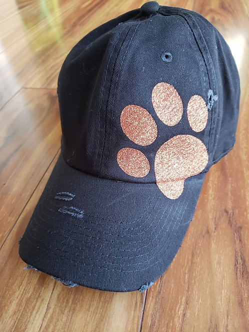 Waterloo Bulldogs Glitter Paw Hat