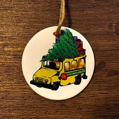 School Bus Ornament Gift