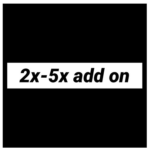 2X-5X Add-on for Gibault Tops