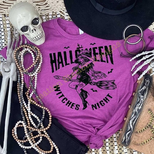 Halloween Witches Night - Black Design