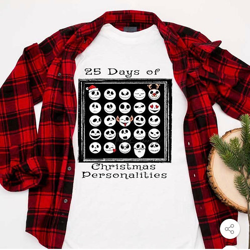 25 Days of Christmas - sublimation only