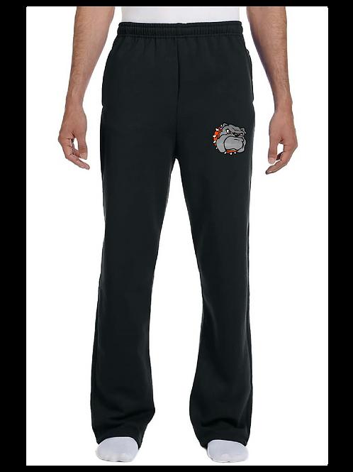 Open-Bottom Sweatpants w/pockets