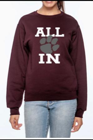 Dupo Track & Field - All In - Sweatshirt