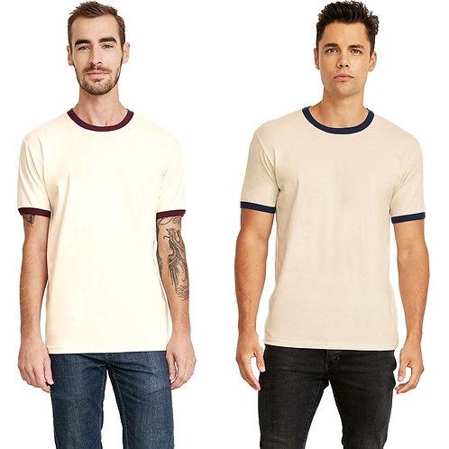2x-3x Unisex Next Level Ringer T-shirt
