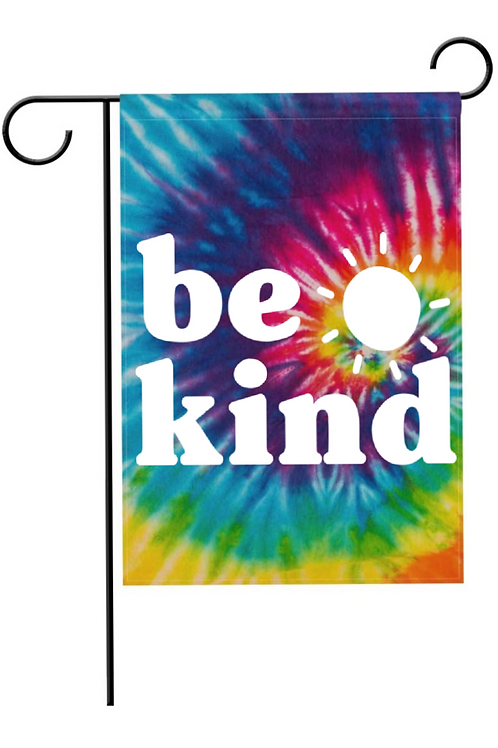 Be Kind - Garden Flag - does not include stand