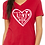 Thumbnail: Rescue Love - Ladies' Relaxed V-neck