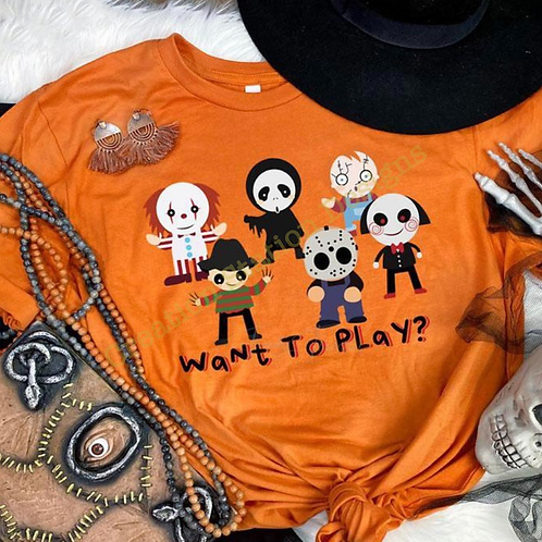 Halloween - Want To Play?