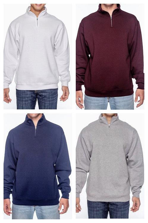 Jerzees Unisex 1/4 Zip Pullover