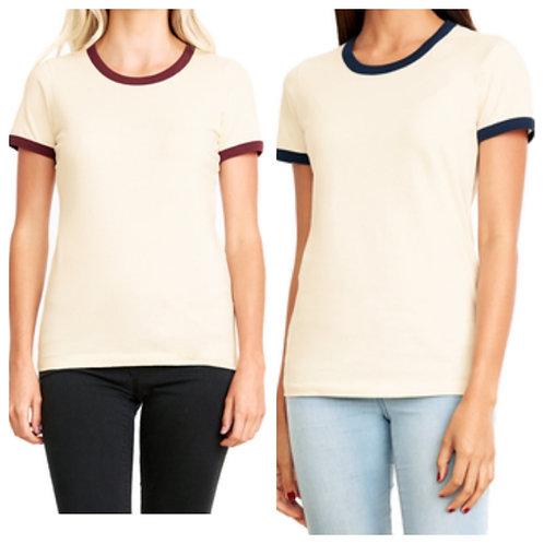 Ladies' Next Level Ringer T-shirt