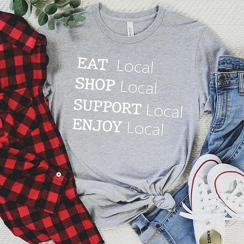 Eat, Shop, Support, Enjoy Local