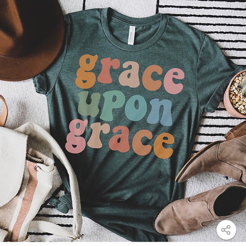 Grace Upon Grace - Screen Print