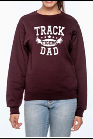Tiger Track Dad - Sweatshirt