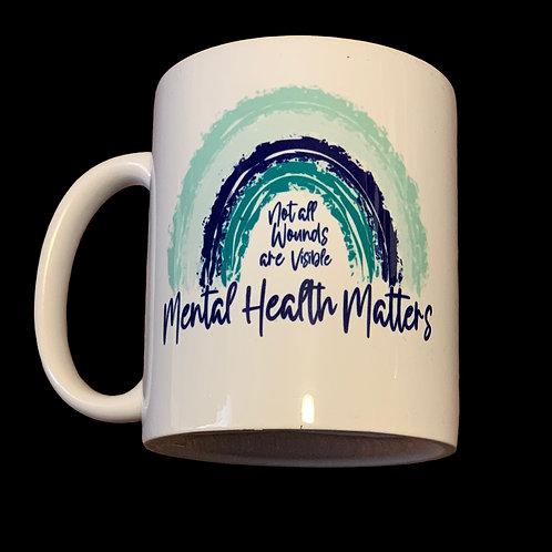 Mental Health Matters - 11oz Coffee Mug