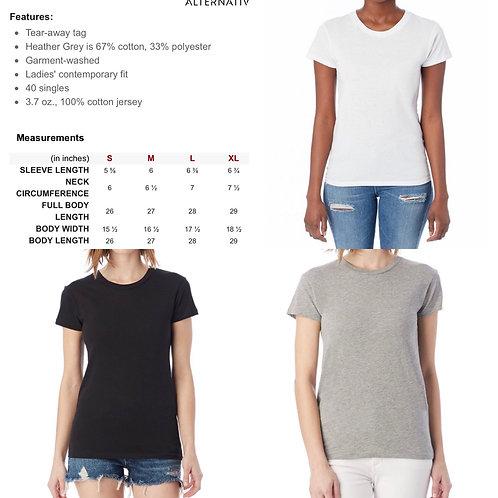 Ladies' Alternative Basic Crew T-shirt
