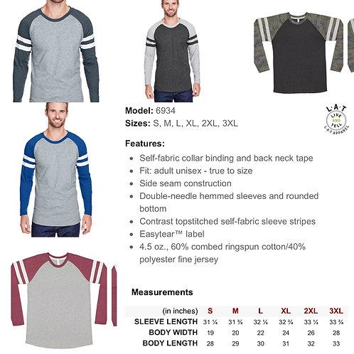 Men's LAT Gameday Mash-up Long Sleeve Shirt