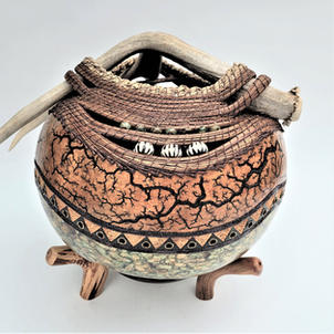 Chisos Canyon Antler Gourd (view 1)   $1,150