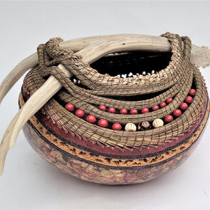 Red River Antler Gourd  $795  (view 1)