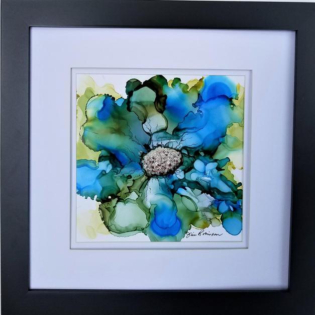 Blue Clematis   $135