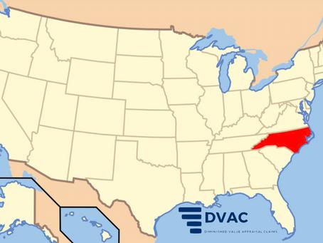 Diminished Value in North Carolina