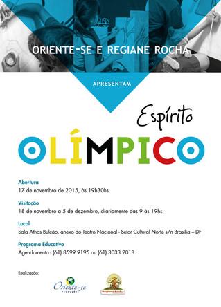 Exposição: Espírito Olímpico.