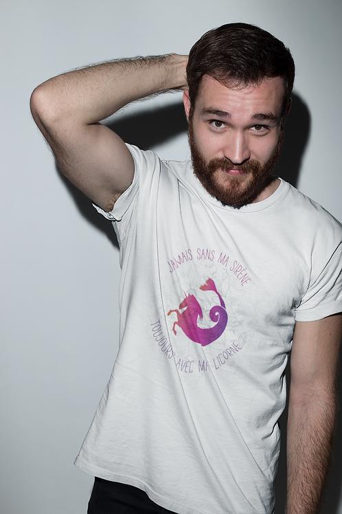 le t-shirt homme à col rond