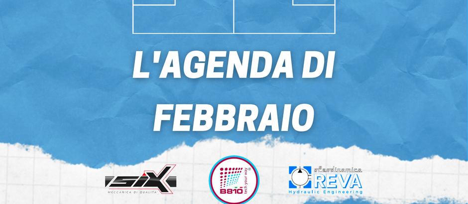 Febbraio 2021: si torna in campo con 3 match in agenda