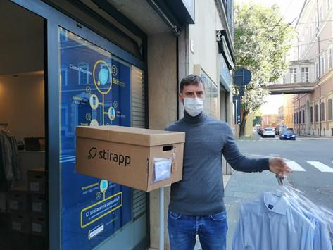 Stirapp: da Modena a tutt'Italia per un bucato a portata di click