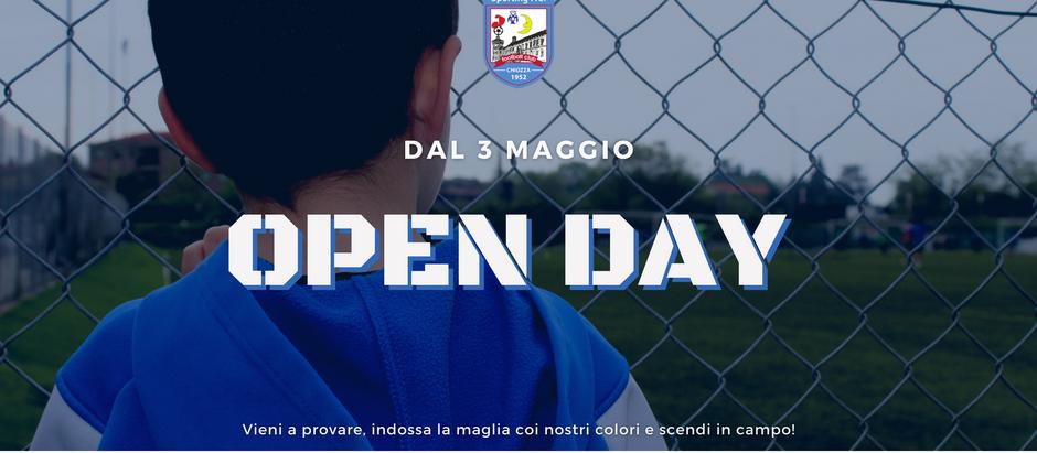 Scuola Calcio ed attività: lunedì 3 maggio al via l'open day