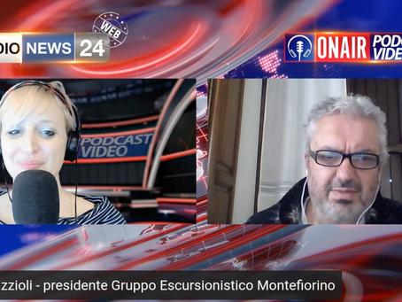 Il Gruppo Escursionisti di Montefiorino su RadioNews24!