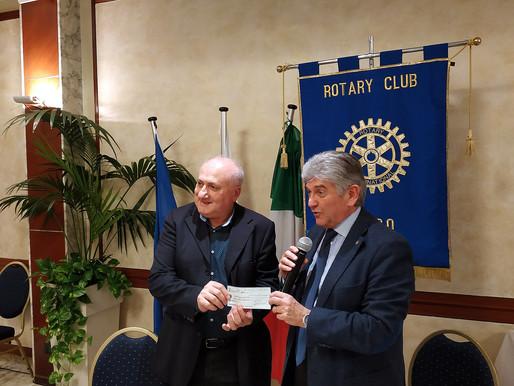Il Rotary Club di Lugo consegna ad Alice Savini la seconda tranche della borsa di studio per merito