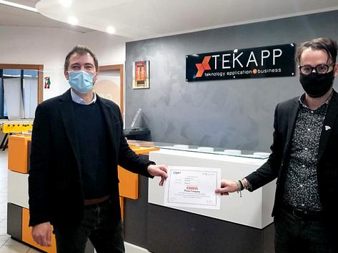 Finanza: l'azienda emiliana Tekapp diventa Prime Company