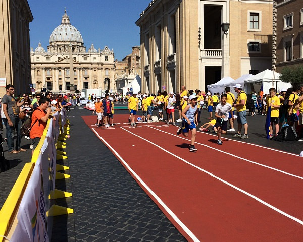 Via della conciliazione (Villaggio dello Sport) - Roma