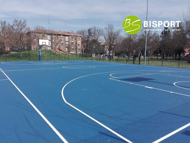 Campo da basket in gomma Sportflex