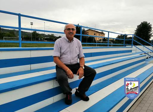 Corrado Zanichelli: 'Felice di poter dare il mio contributo allo Sporting Chiozza'