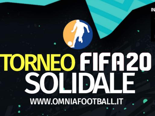 #iorestoacasa e gioco a Fifa20 per aiutare a combattere il Coronavirus