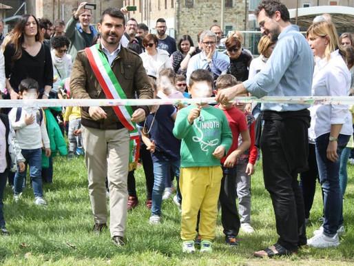Un nuovo giardino per la Scuola dell'infanzia paritaria San Giuseppe di Scandiano