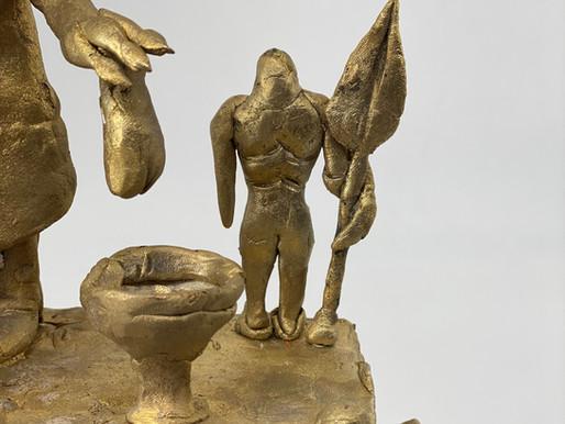 Evgeny Antufiev al Museo Nazionale Etrusco di Villa Giulia a Roma