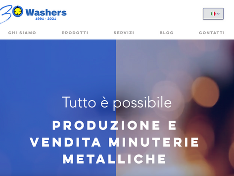 Washers compie 30 anni e rafforza il suo legame con le realtà industriali del mondo