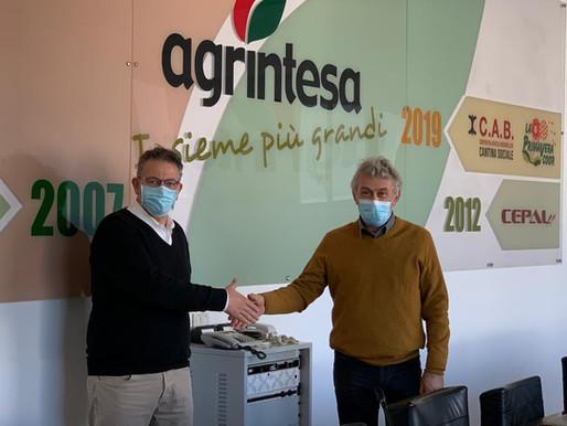 Agrintesa: Raffaele Drei passa il testimone ad Aristide Castellari