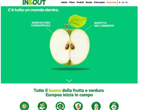 L'ortofrutta europea è online: Apo Conerpo lancia il nuovo sito web