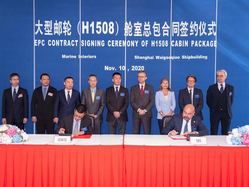 Al via i lavori a Shanghai per la prima nave da crociera cinese