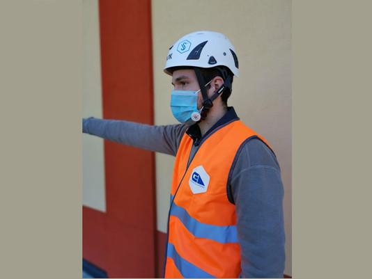 App per monitorare mascherine e occhiali in realtà aumentata nei cantieri: Cea pronta per la fase 2